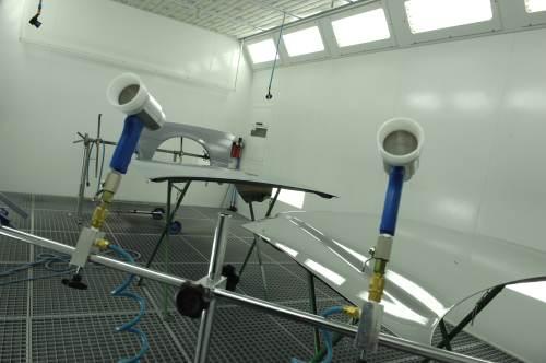 Spuitcabine trainingscentrum Color Up Rijssen