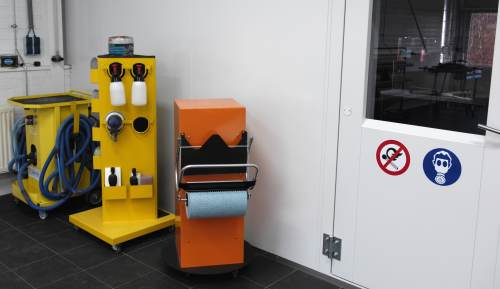 Color Up Rijssen trainingsruimte equipment