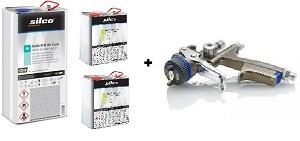 Silco 9600 Rapid Clear + SATAjet X 5500