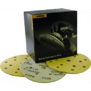 Gold soft 15-gaten velcro 150mm K500