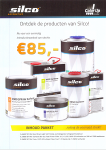 Silco Fast Refinish Introductie Pakket