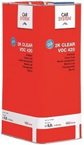 CS 2K Clear VOC 420 5 liter