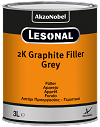 2K Graphite Filler wit 3ltr